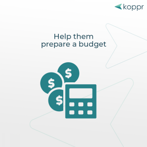 monthly budget preparation