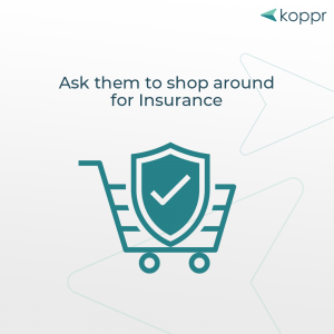 shop around for insurance