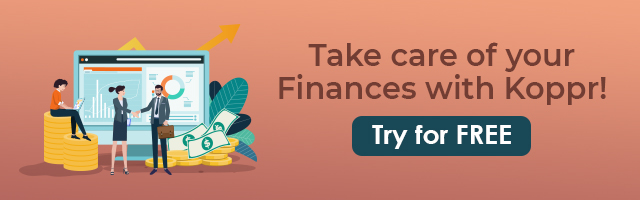 Take care of your Finances with Koppr