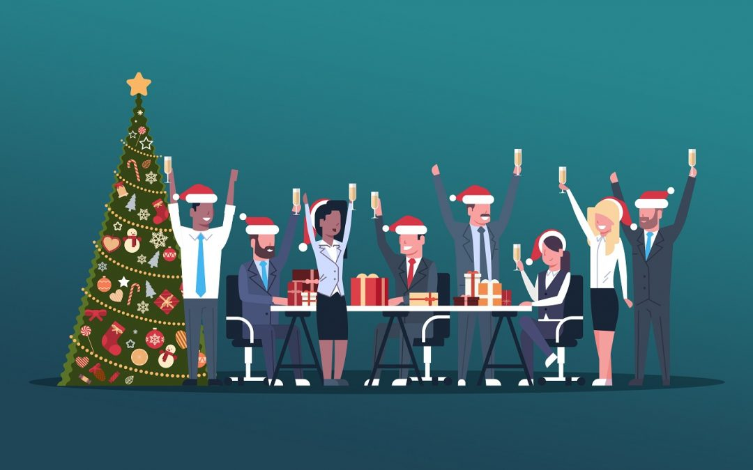 How to Celebrate Christmas in Office or Remotely on a Tight Budget