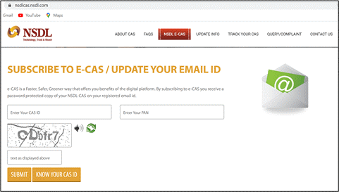 Know your CAS ID