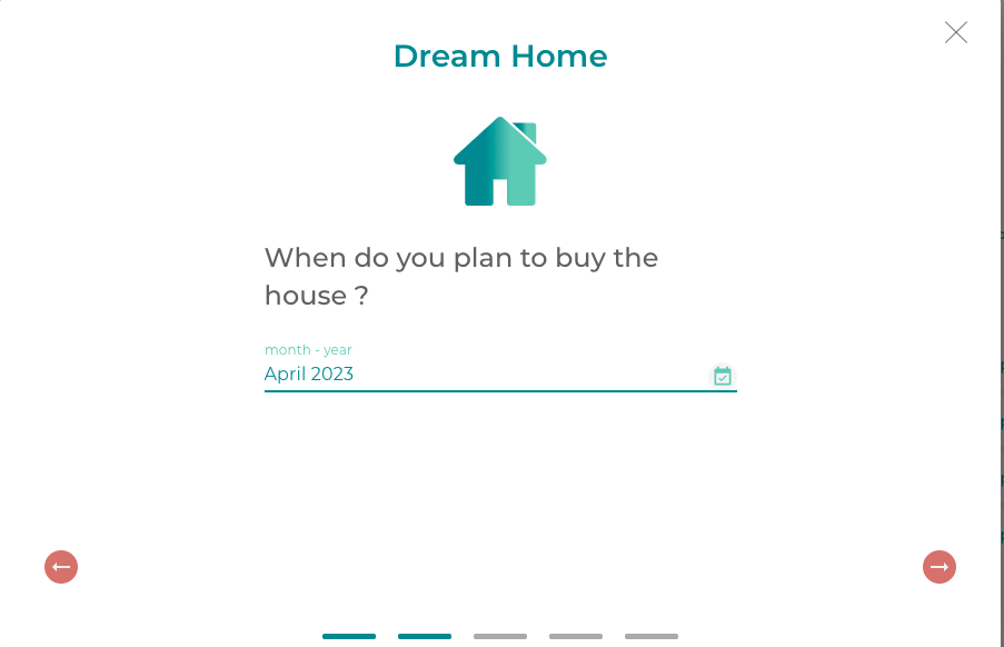 save money for your dream home