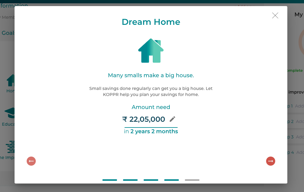 dream home financial planning